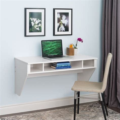 designer floating desk designer floating desk in fresh white finish wehw 0500 1