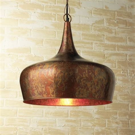 copper pendant lights kitchen copper dome pendant contemporary pendant