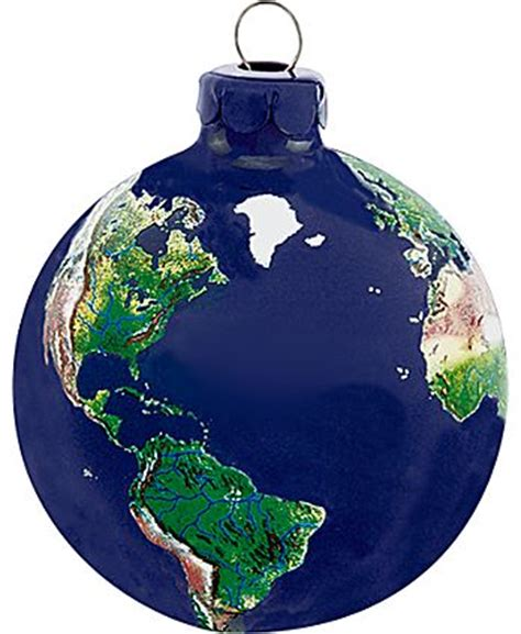 globe ornaments earth globe tree ornament telescopes gifts