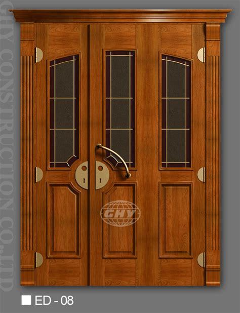 doors exterior wood exterior solid wood doors wooden cherry oak maple walnut