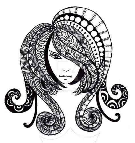 doodle lã sung hair doodle by la who on deviantart