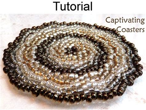 beaded coasters beading patterns beaded coasters seed bead coaster home