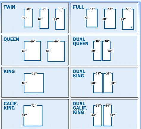 bed measurements in inches costa mesa ca adjustable beds fullerton ca regular