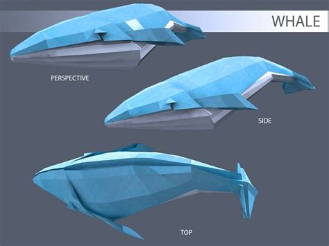 Origami Whale Diy Ideas