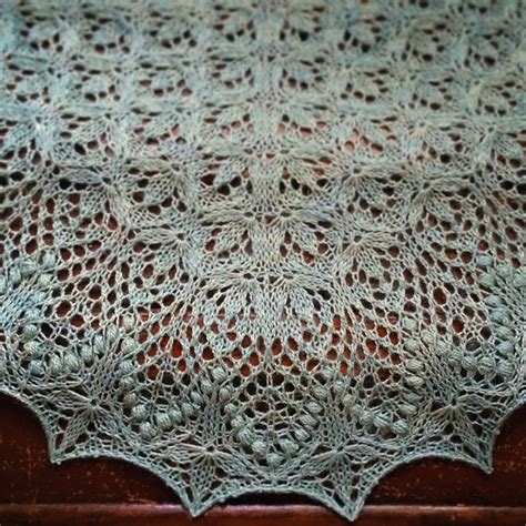 flower lace knitting pattern gorgeously intricate lace shawls for advanced knitters