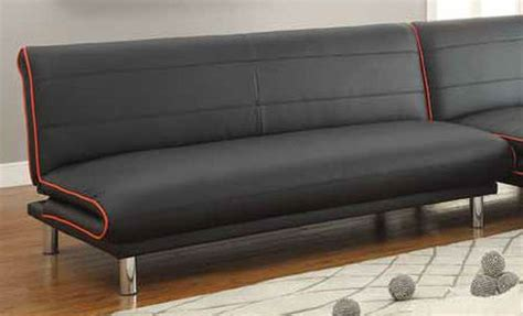 leather sofa beds coaster 500776 black leather sofa bed a sofa