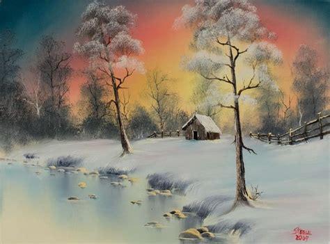 bob ross paintings winter bob ross winter elegance paintings for sale paintings biz