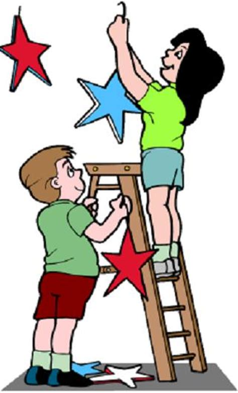 when put up decorations exercises phrasal verbs