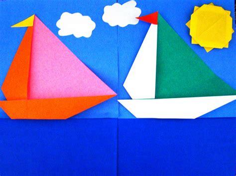 yacht origami origami maniacs origami yacht