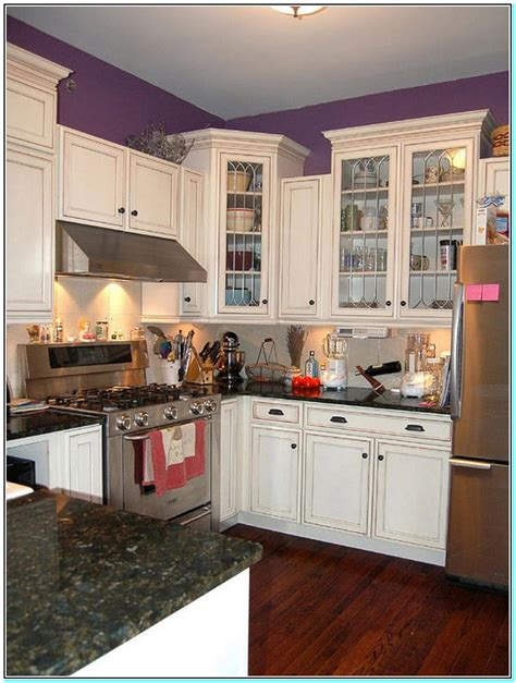 paint colors for small kitchen with white cabinets chantilly lace true white gray popular paint