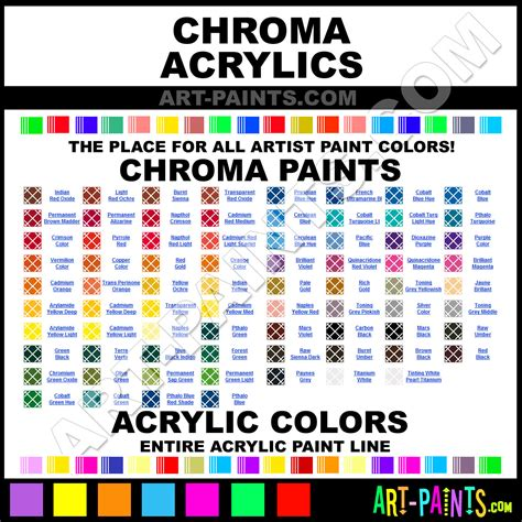 what brand of paint does painting with a twist use chroma acrylic paint brands chroma paint brands acrylic