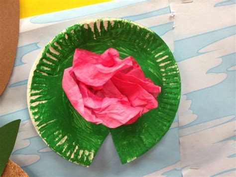 pond crafts for preschool pad craft pond