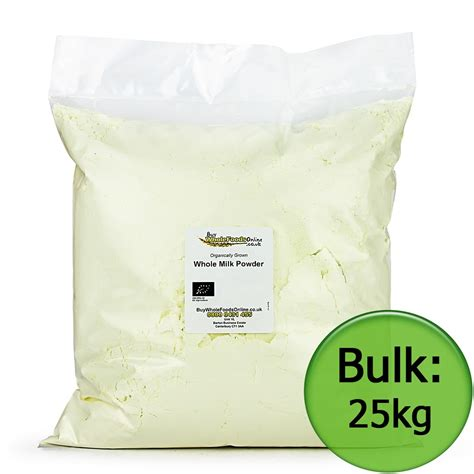 where to buy in bulk organic whole milk powder 25kg bulk
