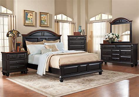 room bed sets berkshire lake black 5 pc king panel bedroom bedroom