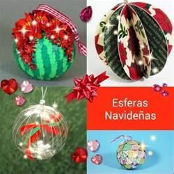 adornos arbol de navidad manualidades esferas navide 241 as para tu 225 rbol de navidad manualidades