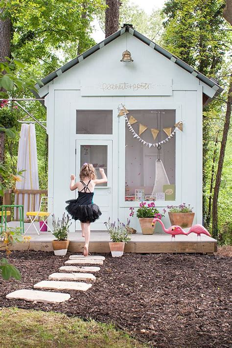 backyard playhouse ideas advertisement