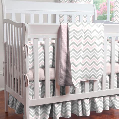 chevron baby crib bedding pink and gray chevron mini crib bedding carousel designs