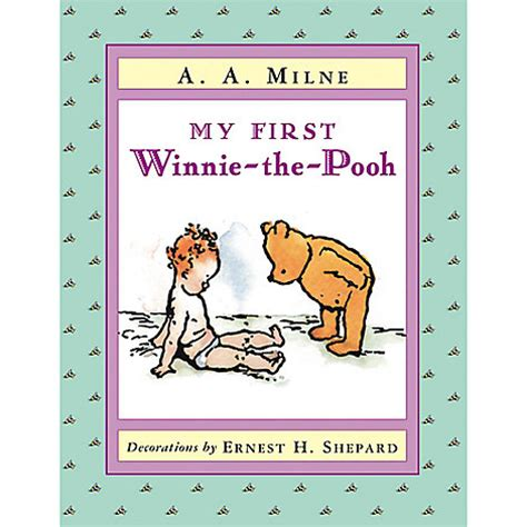 winnie the pooh picture book my winnie the pooh book disney store