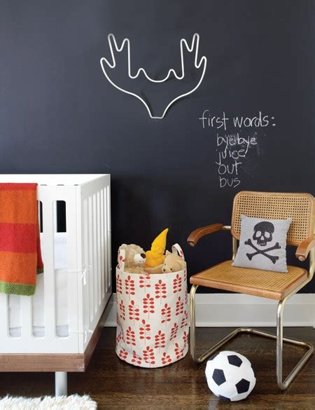 chalkboard paint nursery color changes everything the magic of chalkboard paint