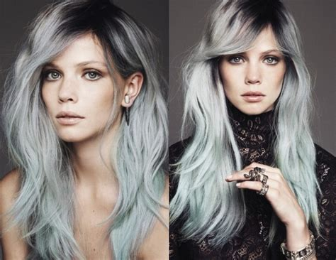 popular trending gray hair colors latest hairstyle trend women dying their hair gray live