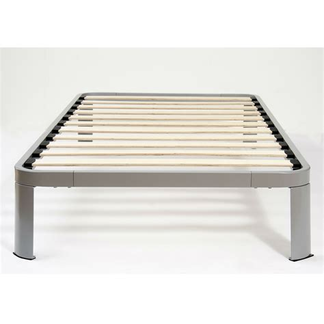 bed frames slats size metal platform bed frame with wood slats