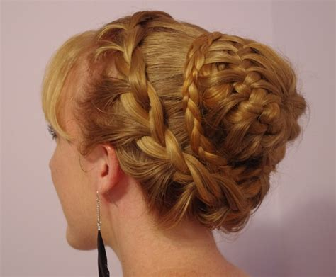 braided hairstyles for with braids hairstyles for hair fancy braided bun