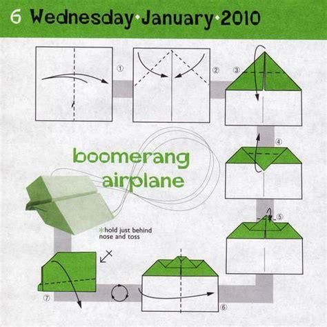 Xinu Origami Boomerang Airplane