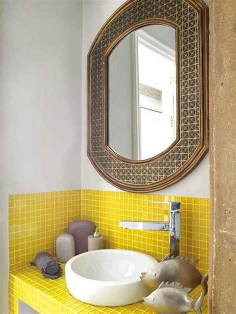 yellow tile bathroom ideas 29 yellow mosaic bathroom tiles ideas and pictures