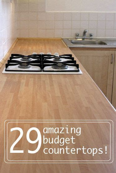 affordable kitchen countertop ideas 17 best ideas about cheap kitchen countertops on cheap kitchen remodel apartment