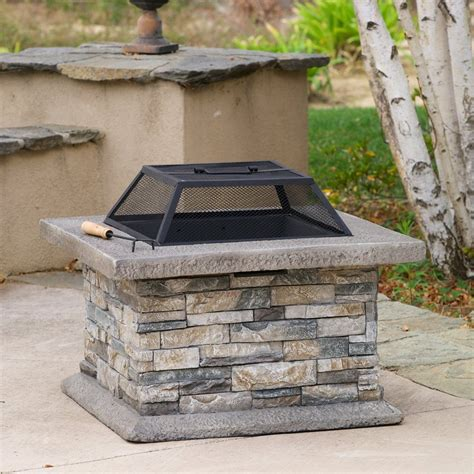 home decor stones shop best selling home decor 29 in w cement