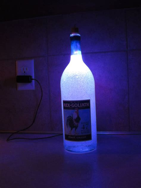 how to make a bottle l with lights cool bottle ls and creative bottle lighting designs