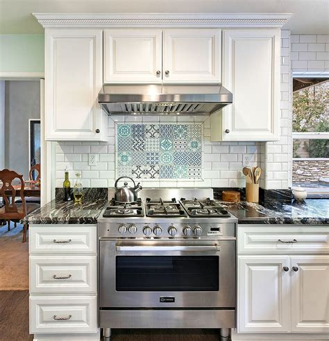 tile ideas for kitchens 25 creative patchwork tile ideas of color and pattern