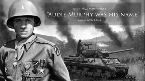 Audie L Murphy by Cowboy Poetry And Storytelling Gary Brace Author Mag
