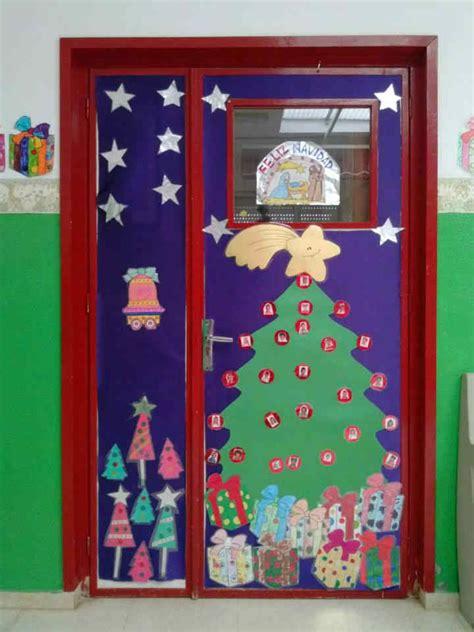 decoracion infantil navidad decoraci 243 n puertas de navidad 2 manualidades para ni 241 os