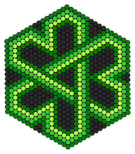 Celtic Knot Shamrock Perler Bead Pattern Bead Sprites