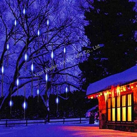 snow lights led led meteor shower light outdoor meteor snow shower