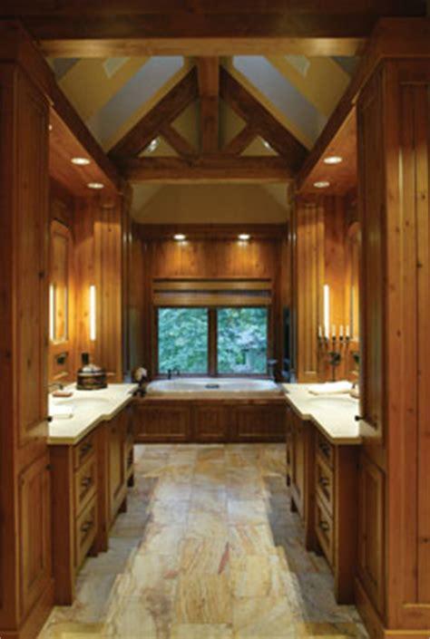 Rustic Spa Bathroom by Luxury Rustic Bathrooms Www Pixshark Images