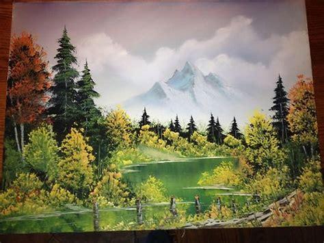 Bob Ross Original Painting Ebay Want