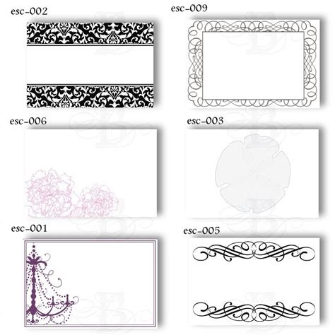 card templates free wedding name card templates free 21gowedding