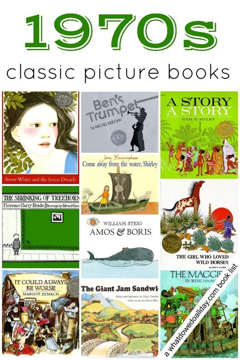 classic picture books for children 1970s children s books picture books