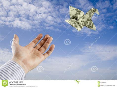 origami money bird origami money bird stock photo image 4762620