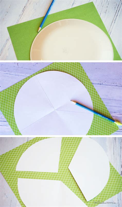 tracing paper crafts the cutest paper trees onecreativemommy