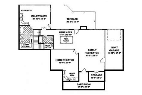 floor plans aflfpw76173 1 story craftsman home with one story craftsman house plans