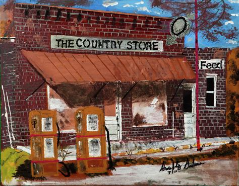 acrylic paint national bookstore country store by swabby soileau