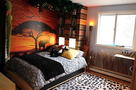 room theme ideas decorating with a modern safari theme