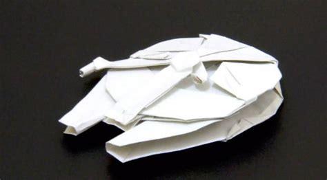 millennium falcon origami millennium falcon origami