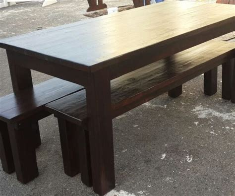 pine outdoor furniture pine patio dining table in stain outdoor furniture