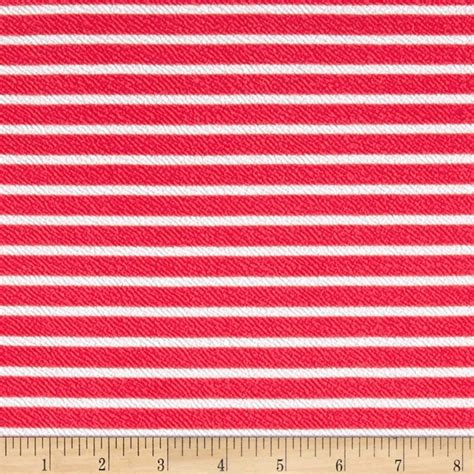 knit print fabric liverpool knit print stripes coral white discount