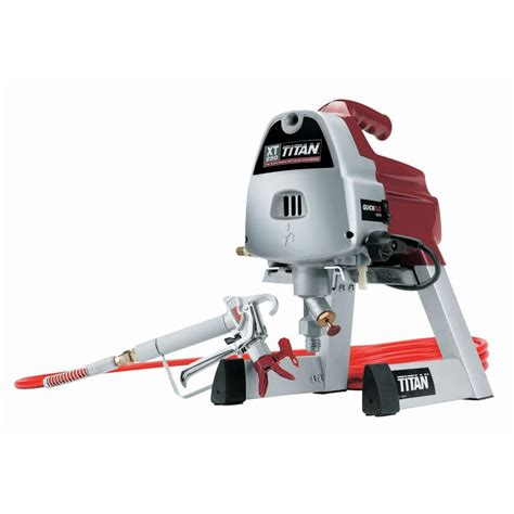 home depot titan paint sprayer titan xt250 paint sprayer 0516011 the home depot