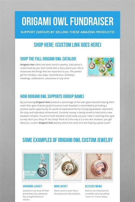 how to sell origami owl best 25 origami owl fundraiser ideas on